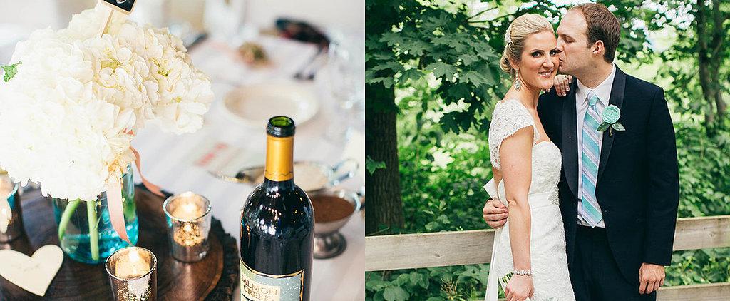 Meredith and Nathan's Romantic Lodge Wedding