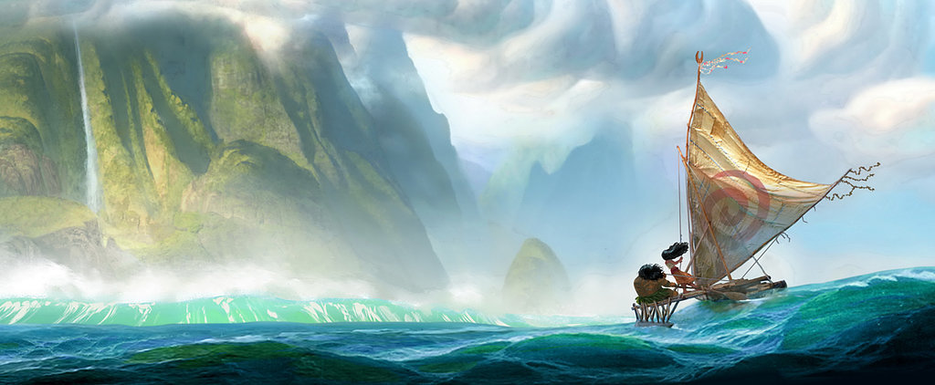 Moana Art Is Getting Us Excited For a New Disney Princess