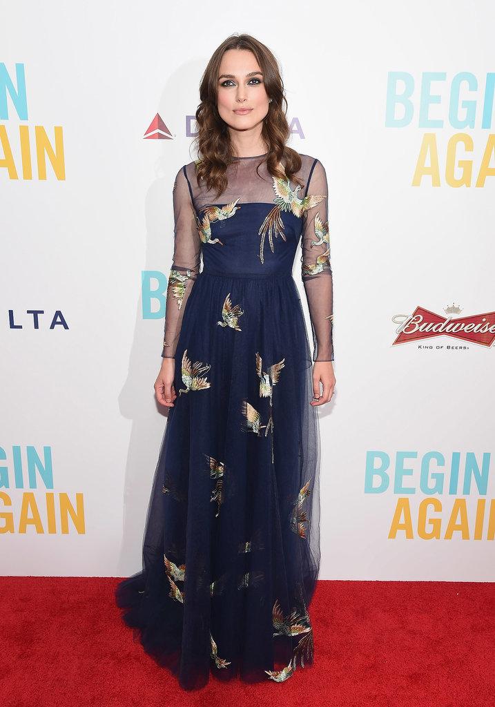 Keira Knightley at the Begin Again New York Premiere
