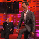 You Can't Miss Benedict Cumberbatch Doing His Best Beyoncé Walk
