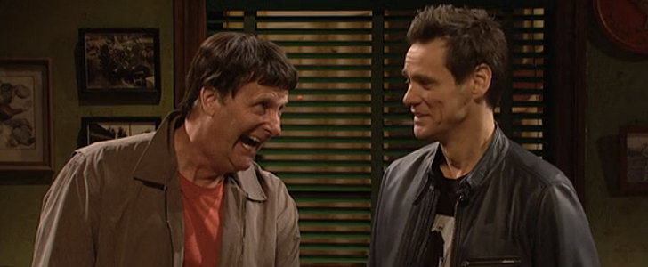 Jeff Daniels Plays Jim Carrey's Dumb and Dumber Character in Their SNL Reunion