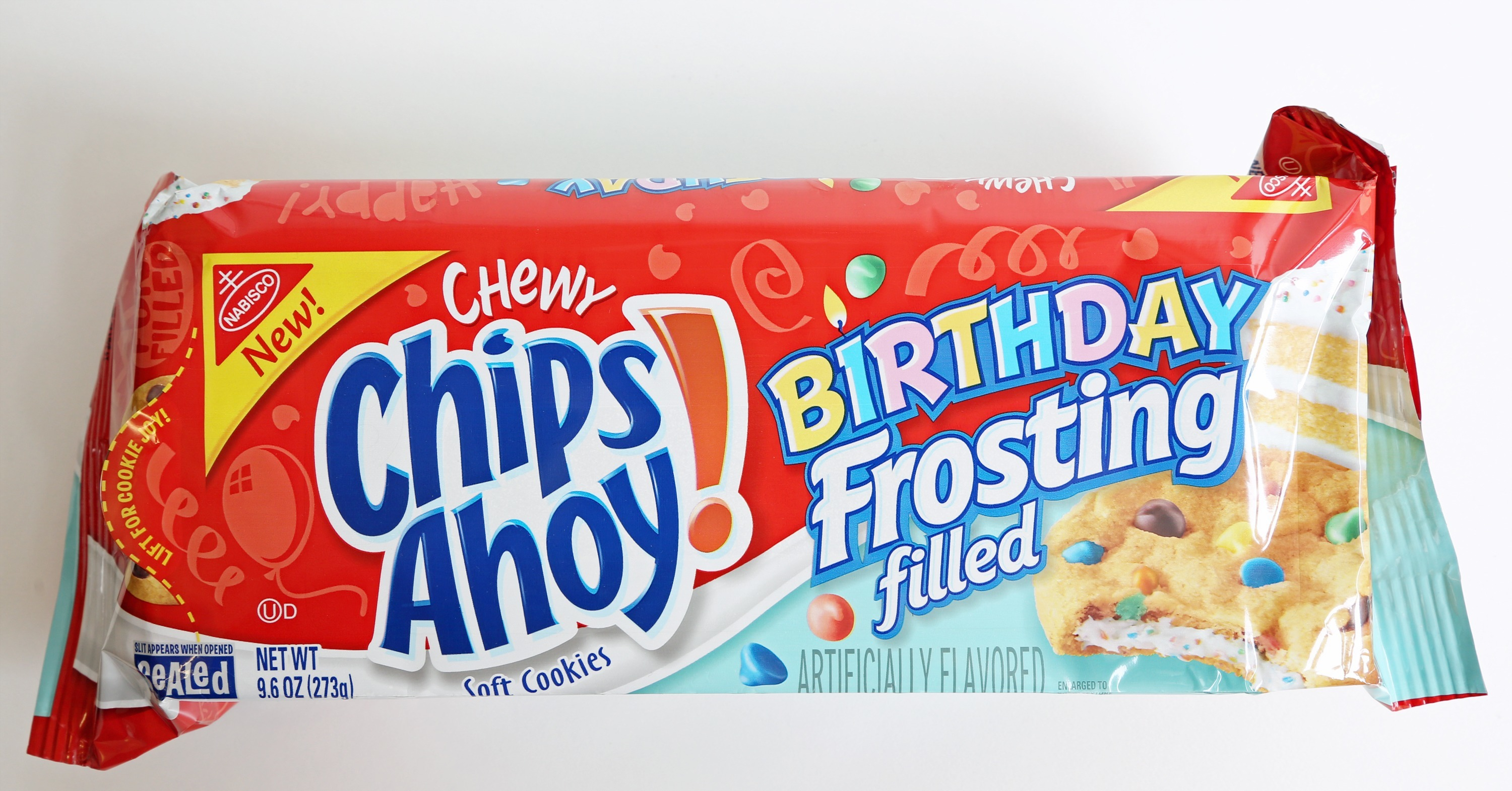 Birthday Cake Filled Chips Ahoy
