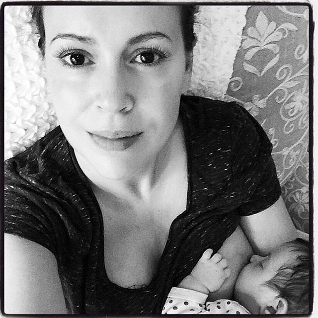 14 Celebrity Moms Get Real About Breastfeeding - Health