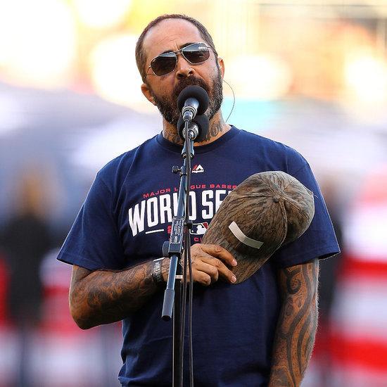 Aaron Lewis Singing the National Anthem | Video