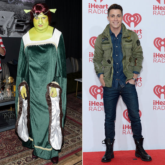 Colton Haynes's Fiona From Shrek Costume | Photos