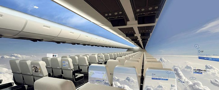 Windowless Airplanes Might Be Here in 10 Years