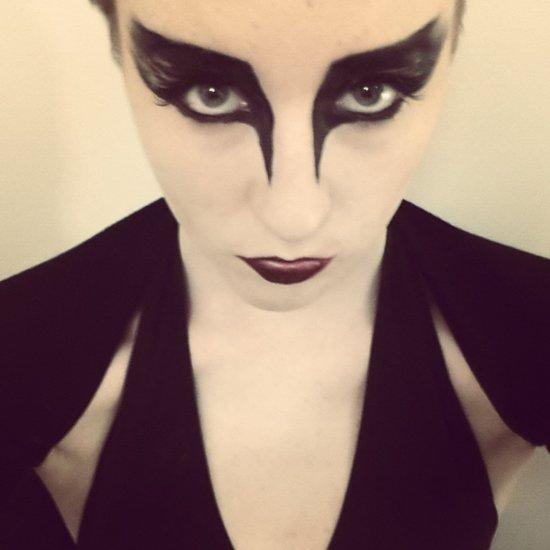 Halloween Costumes Using Eyeliner