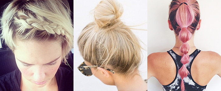 The Best Hairstyles For Your Workout