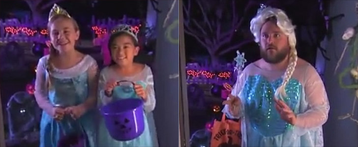 Jimmy Kimmel Prepares For an Onslaught of Elsas on Halloween