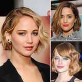 Celebrities With Wavy Bobs, Lobs, and Midlength Hair