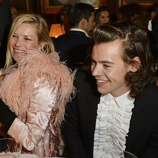 Kate Moss With Harry Styles at Annabel's | Photos
