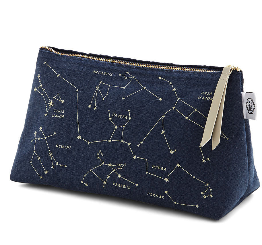 Just try and find a makeup bag better than this awesome celestial version ($28).