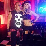 Kate Hudson and Goldie Hawn Get Sexy For Their Biker-Themed Halloween Bash