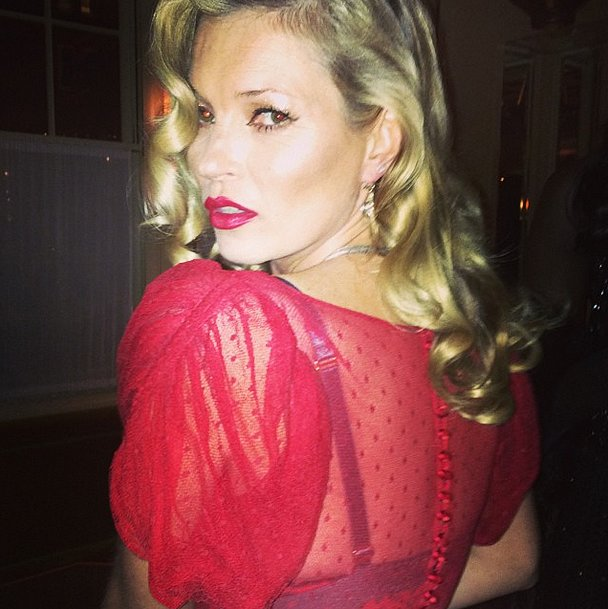 Suzy Menkes Snapped a Close-Up of Kate Moss