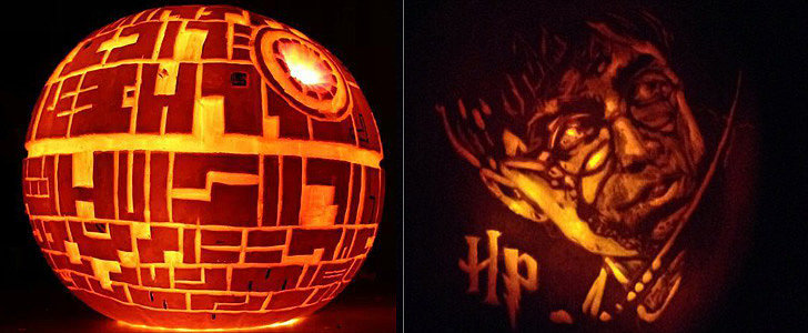 From Death Star to Dire Wolf, These Are Halloween's Blue-Ribbon Jack-o'-Lanterns