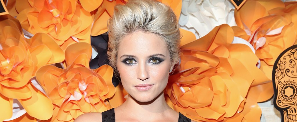 Dianna Agron's Smoky Eye Is Perfect For Girls Who Don't Do Halloween