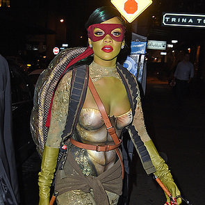 Rihanna Dressed Up as Teenage Mutant Ninja Turtle | Photos