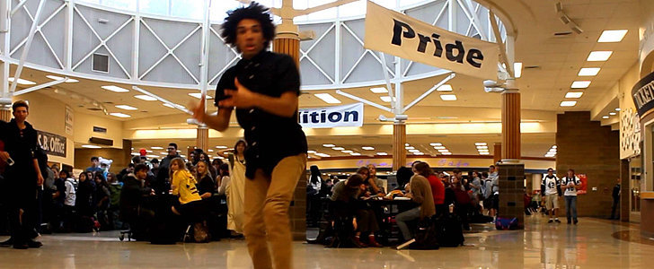 People Can't Help But Stare at This Guy's Impressive Dance Performance