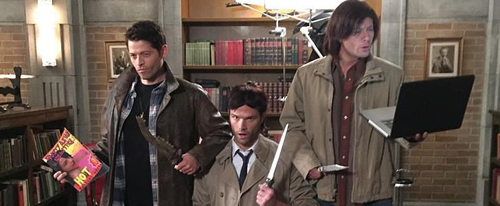 The Supernatural Cast's Halloween Costumes Were So Brilliant Last Year