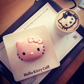 Hello Kitty Cafe in California