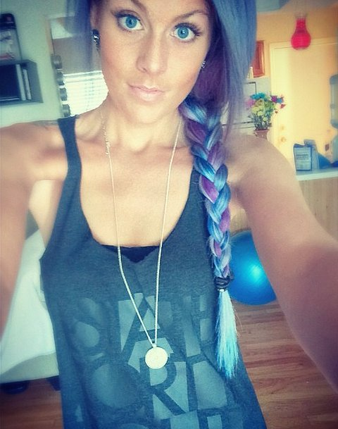 Blue Raspberry Braid