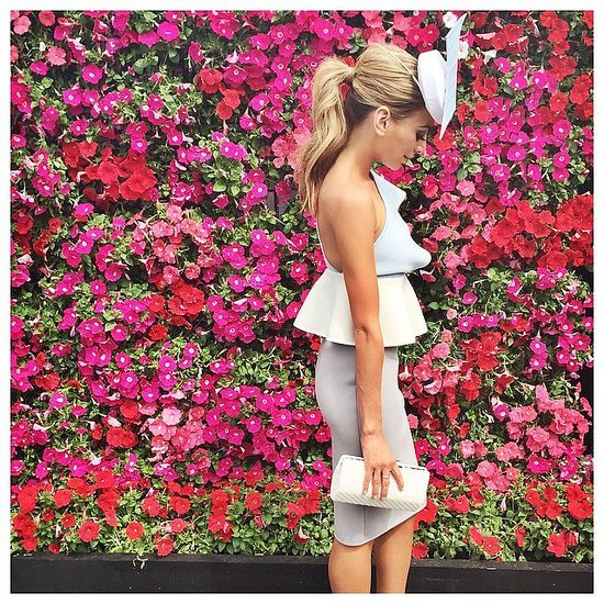 2014 Melbourne Cup Celebrity Instagram Pictures