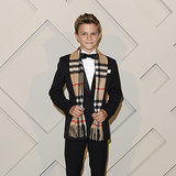 Romeo Beckham Outshines His Famous Parents on the Red Carpet