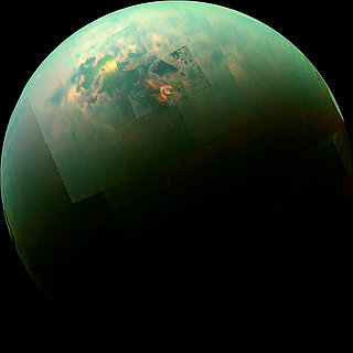 NASA Cassini Titan Moon Photo