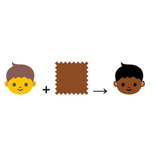 Racially Diverse Emoji