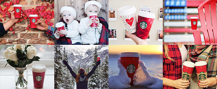 Starbucks Red Cups Have Arrived! 30 Snaps For Festive Inspiration