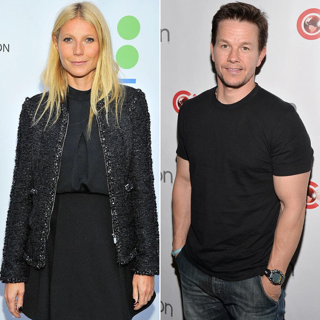 Gwyneth Paltrow and Mark Wahlberg