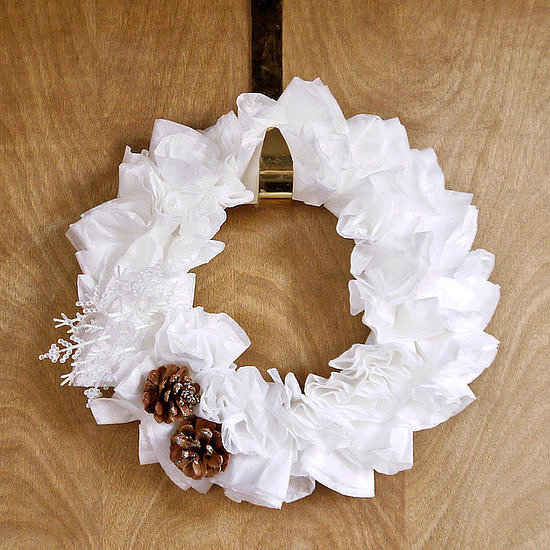 Coffee-Filter Wreath | Easy DIY Decor to Take You From Thanksgiving to ...