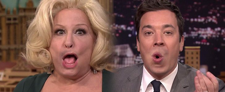 Bette Midler and Jimmy Fallon's Flipped Lips Duet Is Everything You Never Knew You Wanted