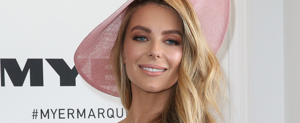 Jen Hawkins Has One Secret For Glowing at Ladies Day