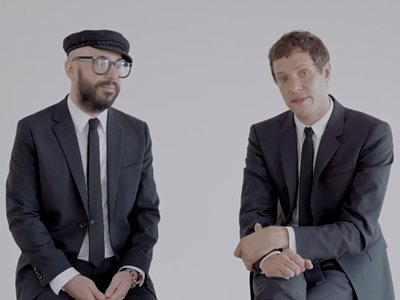 Go Behind The Scenes Of OK Go's New Music Video