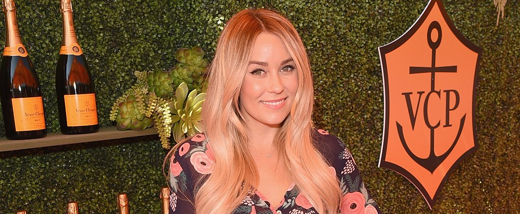 Lauren Conrad Says She's Showing Off Her Mani, but She Really Meant Wedding Ring