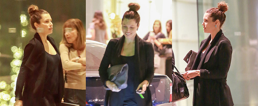 Jessica Biel Steps Out Smiling Amid Pregnancy Reports