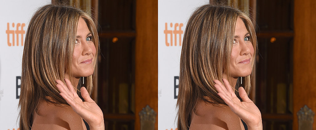 "Jennifer Aniston Declares Going Makeup Free ""Fabulous"""