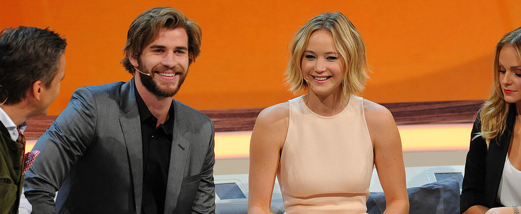 Jennifer and Liam Kick Off Their Mockingjay Press Tour, but Where's Josh?