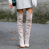 How to Wear Over-the-Knee Boots