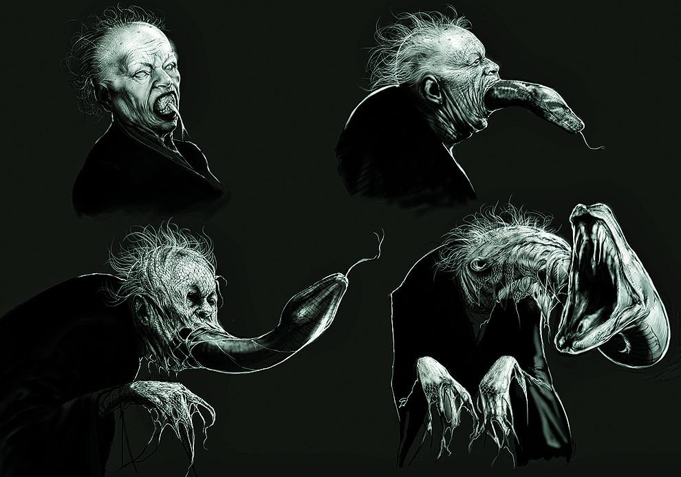 Nagini Harry Potters Original Concept Art Might Give