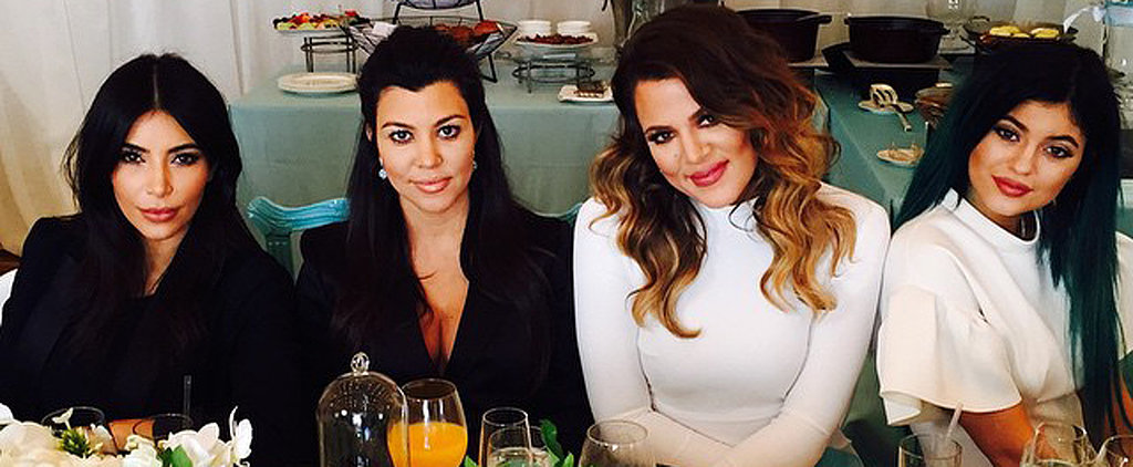 Kim Kardashian Covers Up For Kourtney's Baby Shower