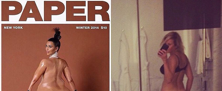 Celebrities Are Having All Kinds of Reactions to Kim Kardashian's Bare-Butt Photo
