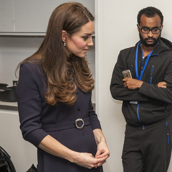 Pregnant Kate Middleton Meets Tokyo 2020 Olympic Candidates