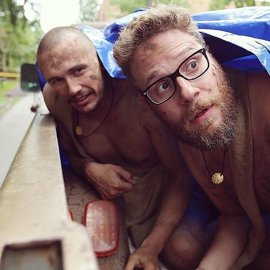 James Franco and Seth Rogen on Naked and Afraid Video