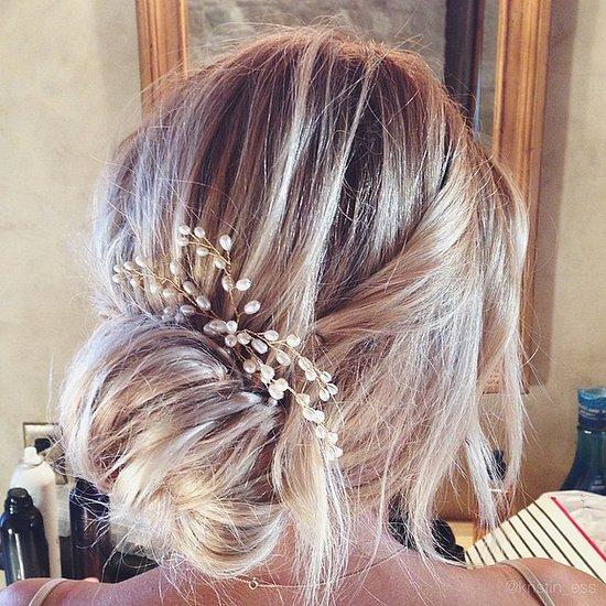 Lauren Conrad Bridal Hair Up 'Do