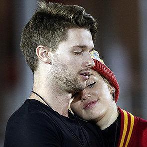 Miley Cyrus Kissing Patrick Schwarzenegger   Photos
