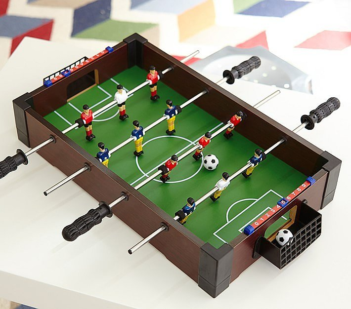 For 5-Year-Olds: Tabletop Foosball Table