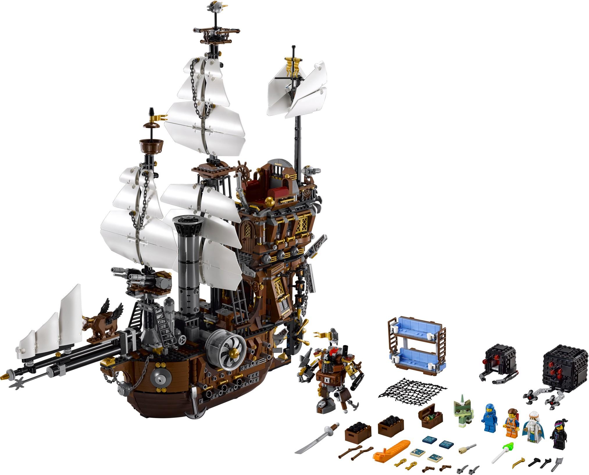 Lego Movie Metal Beard's Sea Cow