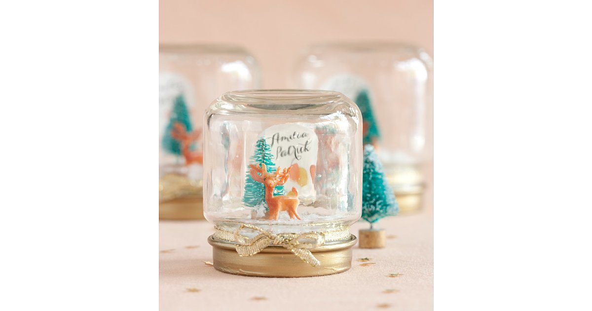 Mini Snow Globes 45 Diy Gifts For Co Workers Cousins